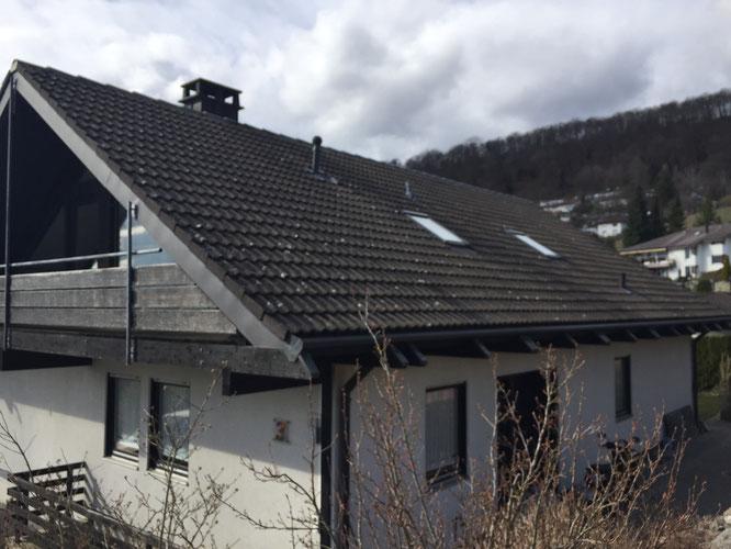 Dach alt, Dach beschädigt, Dachsanierung Lostorf, Dachsanierung Dulliken, Dachsanierung Wangen bei Olten
