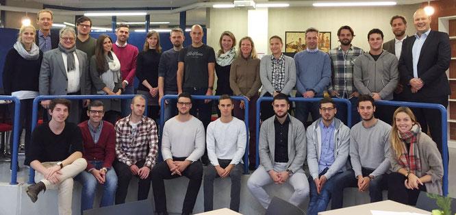 Start des 2. Jahrgangs LL.M. Sportrecht und 14. Jahrgangs MBA Sportmanagement im November 2016