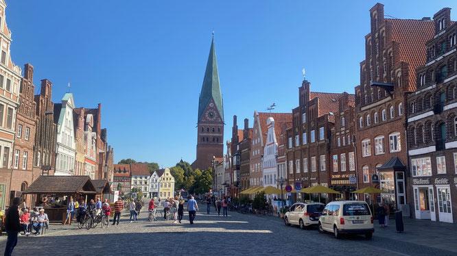 Bild: Am Sande in Lündeburg