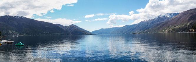 Bild: Foto vom Lago Maggiore