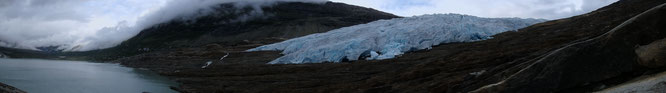 Austerdalsisen Gletscherzunge des Svartisen