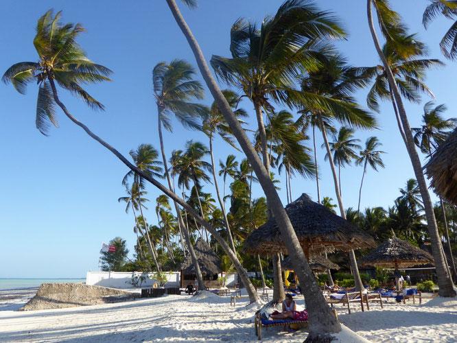 Bild: Strand am Indischen Ozean