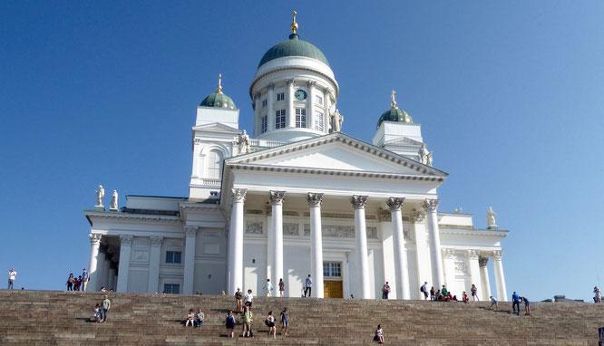 Bild: Der Dom von Helsinki