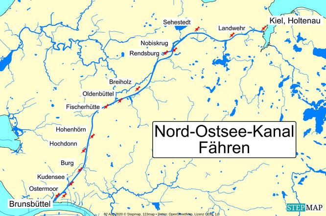 Bild: Nord-Ostsee-Kanal