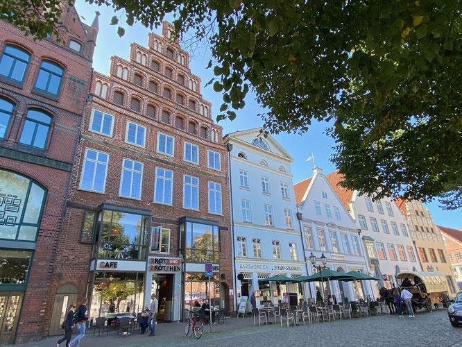 Bild: Häuser am Marktplatz