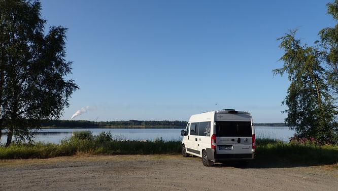 Bild: Stellplatz an der Ostsee