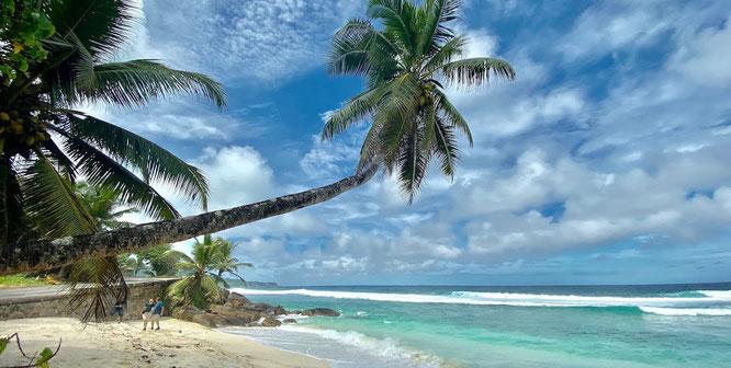 Bild: Strand auf Mahé