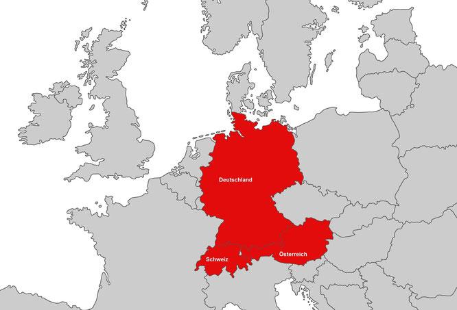 Kunden aus Deutschland, Österreich und der Schweiz vertrauen auf GRAF & PARTNER