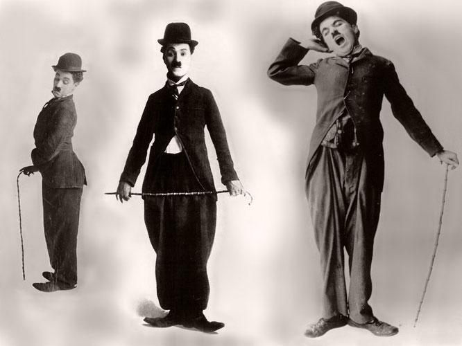 Чарли Чаплин - образ Шарло.