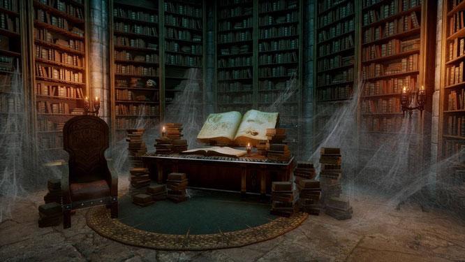 Таинственная библиотека. Фэнтези