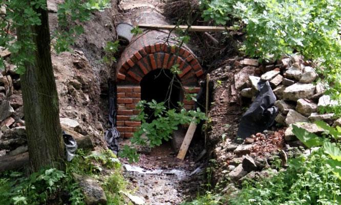 Тоннель в Царском Селе.