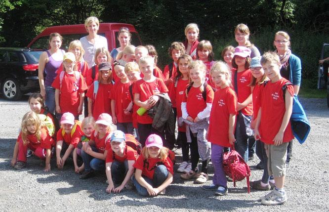 Am Samstagmorgen besuchte man den Kletterpark in Bad Neuenahr-Ahrweiler.
