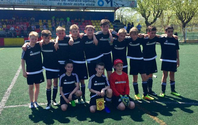 Die D1-Junioren belegten einen hervorragenden 2. Platz in der Vorrunde.