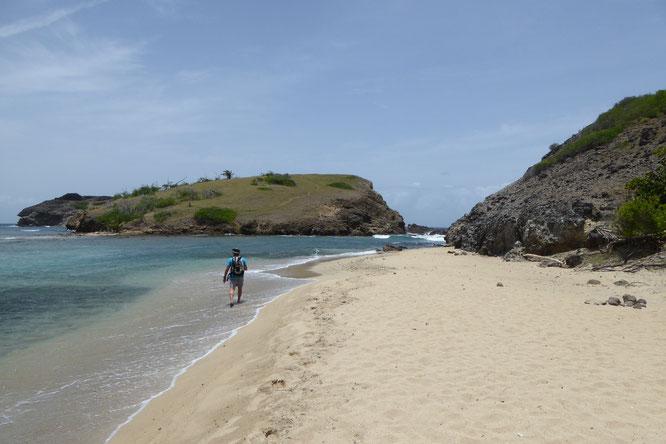 Les Saintes, plage de Bonpierre