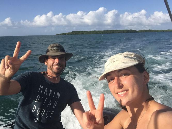 Naviguation dans le Grand Cul-de-Sac Marin
