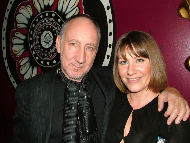 Pete with his long-term partnet Rachel Fuller