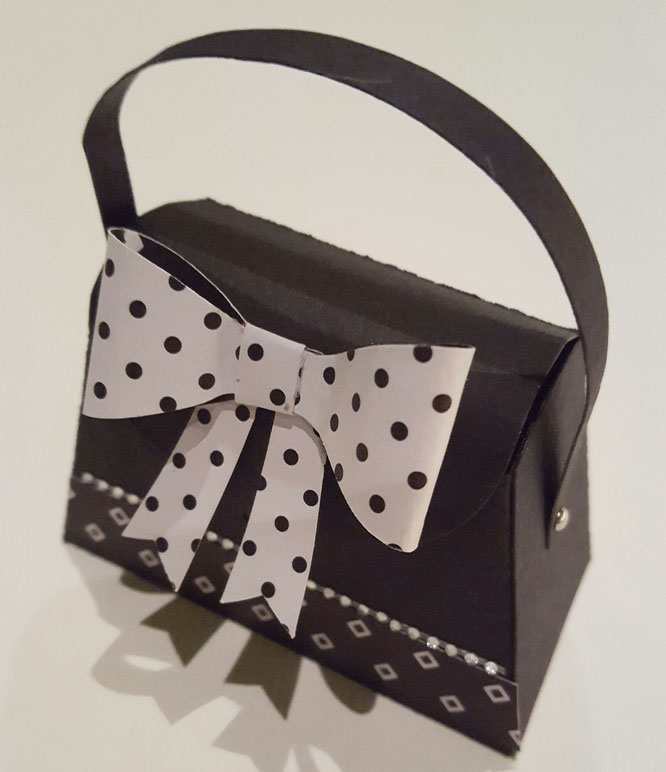 Stampinup # Mini Tasche #Verpackung # Stanze