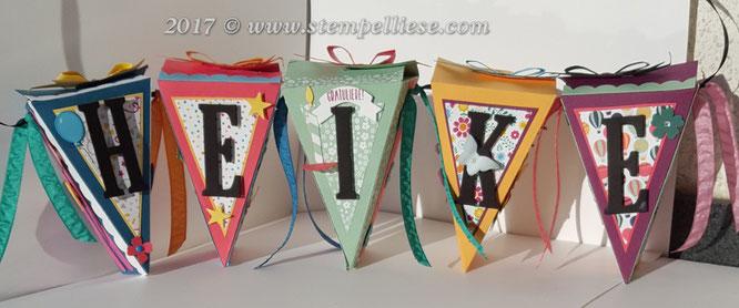 Wimpelkette # stempelliese.com # Cutiepiestampinup # tortenstück # Geldgeschenk # verpackungen #