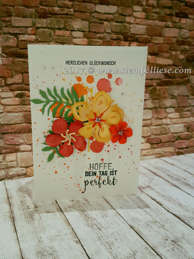 Botanical Builder Framelits # Stampin`Up! # Kürbisgelb