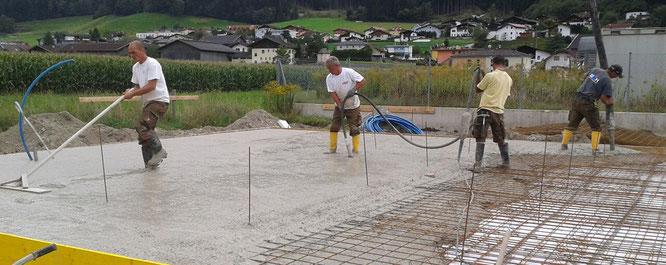 Leistungen und Service der BP Bau GmbH