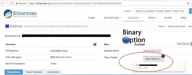 come trasferire token da iq option in un portafoglio elettronico criptovalute