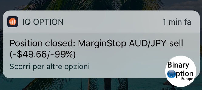 iq option margin call o chiamata a margine cfd protetto