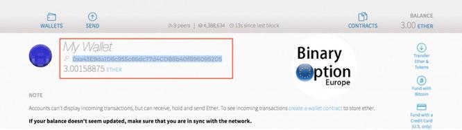 come prelevare token otn in portafoglio iq option