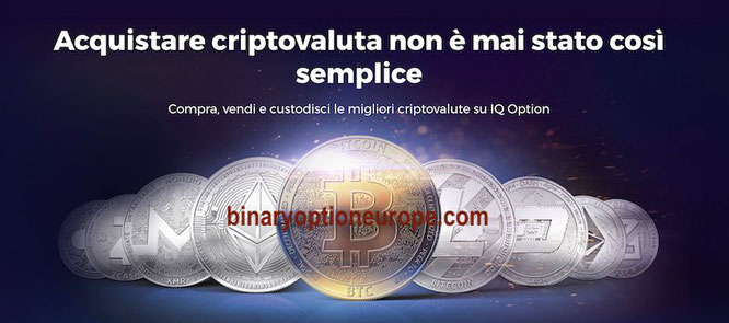 iq option borsa exchange criptovalute