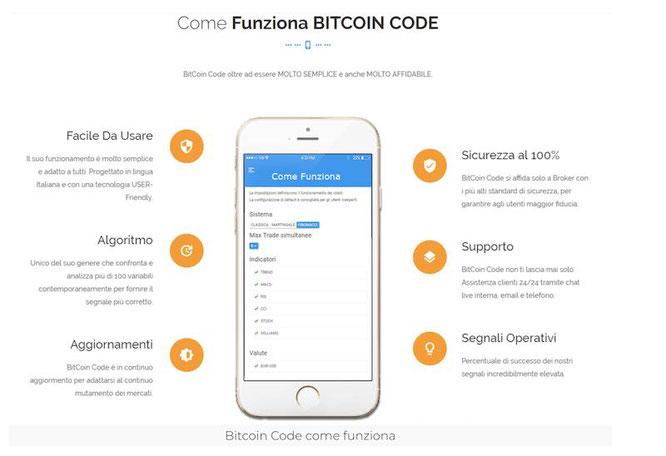 come funziona il bitcoin code