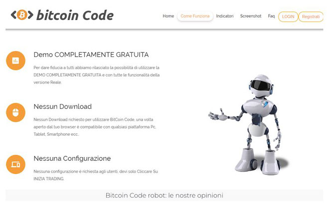 bitcoin code opinioni