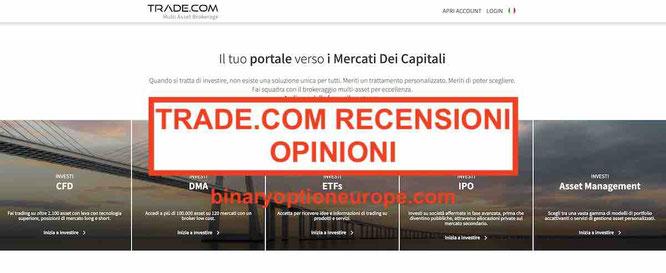 trade.com recensioni e opinioni broker forex truffa