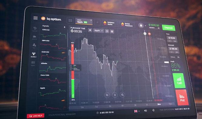 piattaforma di trading online iq option come funziona