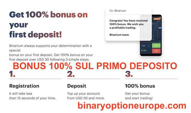 binarium bonus gratis