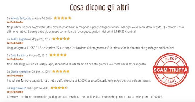 dubai lifestyle app false recensioni e opinioni