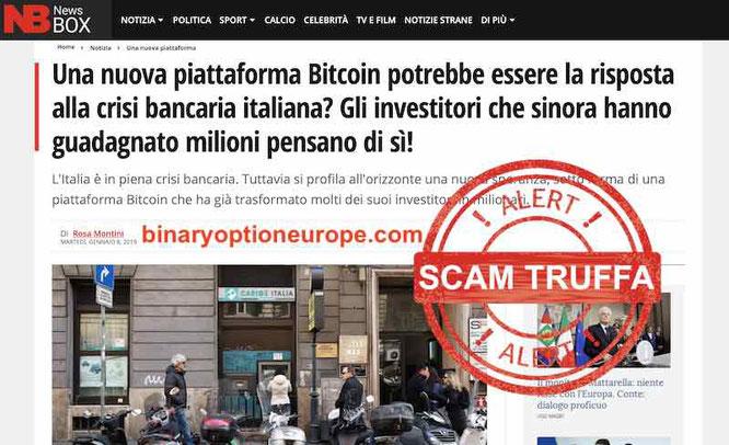 bitcoin code truffa 2019