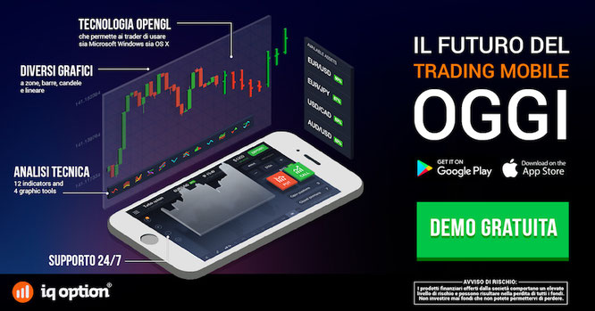 Conto demo opzioni binarie iq option gratis senza deposito
