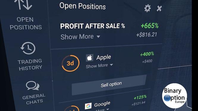 iq option vendita anticipata opzioni classiche 2017