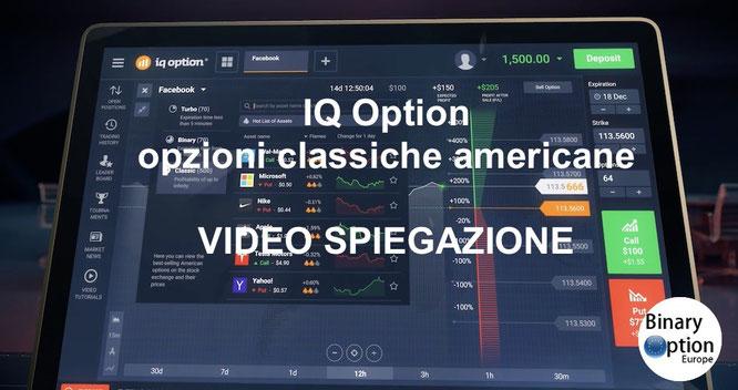 iq option opzioni di borsa classiche americane 2017