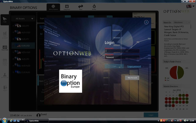 optionweb piattaforma revolution scaricabile trading binario
