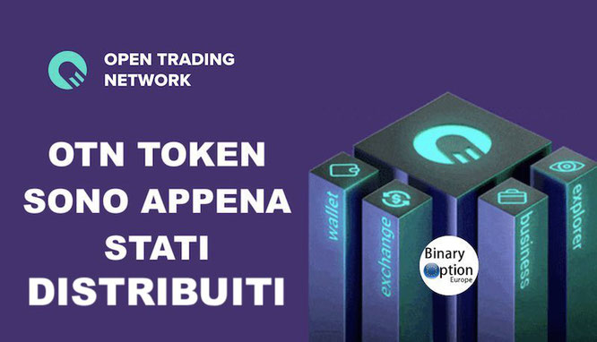 otn token distribuzione iq option
