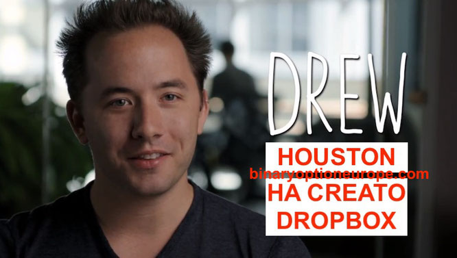 Drew Houston fondatore e CEO di Dropbox