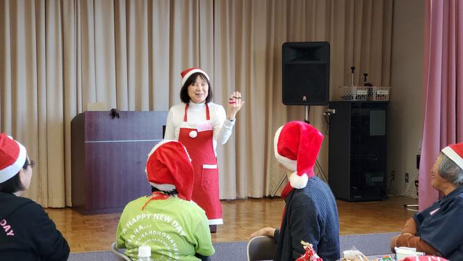 松阪笑いヨガくらぶクリスマス会2019年12月25日