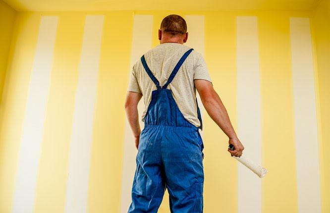 Trägt trotz Stellenstreichungen noch viel zu dünn auf: Maler von Gräfenbusch & Söhne
