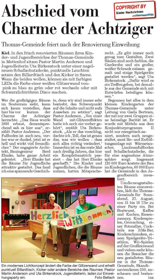 Eneff Bernd Ehmke Kieler Nachrichten