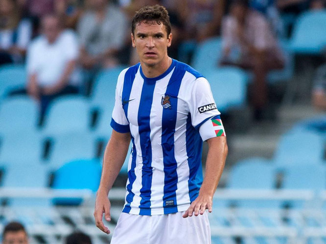 Jon Ansotegi deja la Real tras 11 temporadas y regresa a Eibar. Foto: Getty Images.