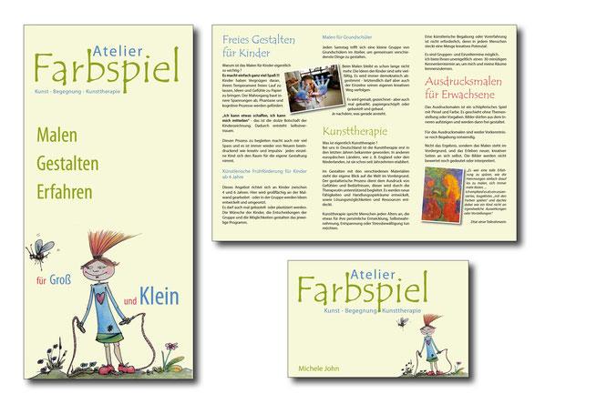 Logogestaltung, Visitenkartengestaltung, Faltblatt gestalten lassen, Faltblatt zu Festpreisen gestalten lassen