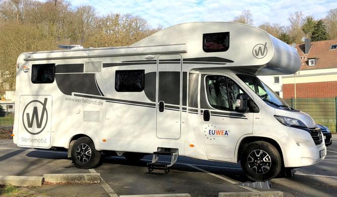 Werte-Mobil - Wohnmobil für wertvolle Zeiten und Reisen