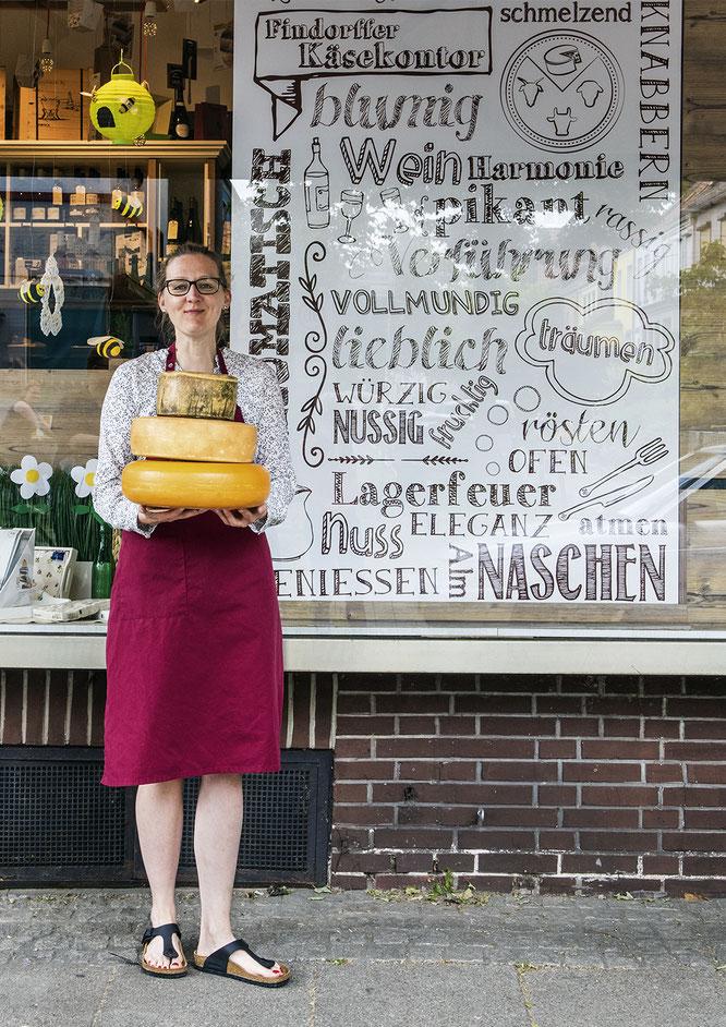Käsekontor Hemmstraße Grosch Findorff Findorffer Geschäftsleute Magazin Stadtteil Bremen Einzelhandel Gastro Restaurants essen gehen
