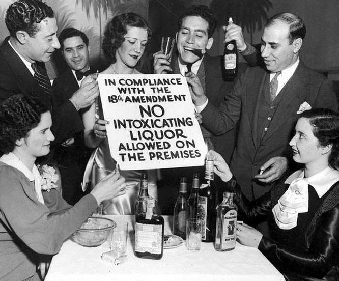 ley seca y la era de la prohibition