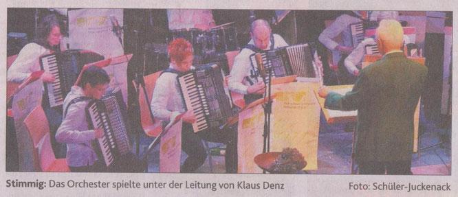 Oldenburgische Volkszeitung vom 10.Nov. 2014